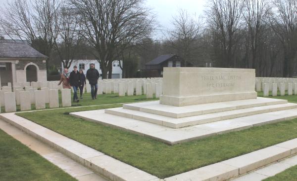 Soldatenfriedhof Sanctuary Wood