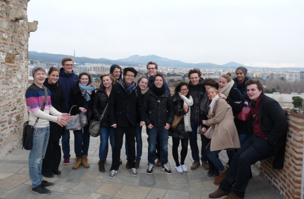 MUN Group in Thessaloniki